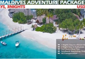 Maldives Adventure Package 4Days, 3Nights by UI Hotels