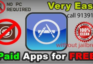 Do you want install paid or tweaked ios free without jailbreak? call us  9139118