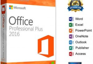 MICROSOFT Office 2016 Professional Plus – 32/64 Bit