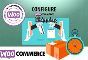 I will setup and configure woocommerce shipping