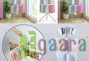 Multi functional floor folding towel drying rack