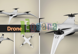 3D Model – Drone