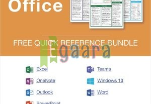 2390Microsoft Office 2019 — Free Reference Card Bundle